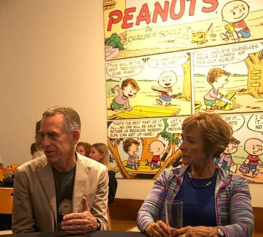 Director Steve Martino and Jean Schulz talk about the legacy of Peanuts