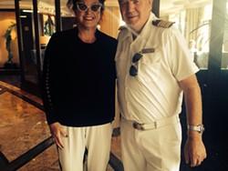 Me and Captain Gunnar Romtveit.