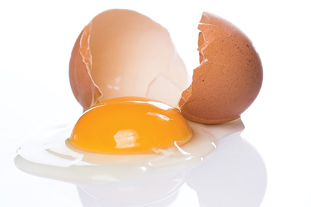 CRACKING UP  The American Egg Board has gone after upstart Hampton Creek for its egg-free mayo.