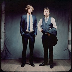 HAVE YOU SEEN US? On their own, they struggled, but as a duo, the Milk Carton Kids are going places.