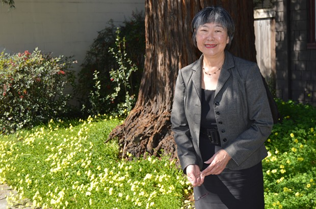 Mariko Yamada squares off against Bill Dodd for California's 3rd District Senate Seat this year.