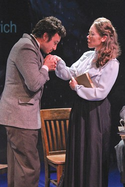 THE EINSTEINS Playing opposite Sam Coughlin, Ilana Niernberger gives an outstanding performance. - ERIC CHAZANKIN