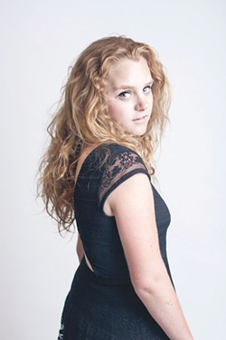LOCAL GIRL Shelby Lanterman developed her talent through local shows and in Nashville.