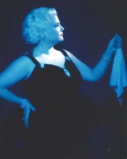 STAR POWER Sharon McNight's performance as Sophie Tucker has defined her as an artist.