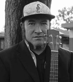 UKE FOLK Jon Gonzales gets musical inspiration from his community. - FERMIN RAMIREZ