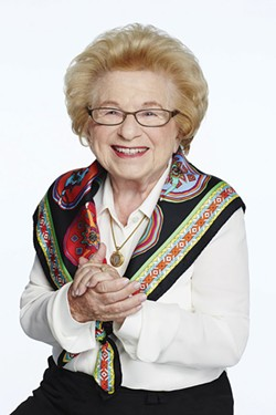 SEX TALK New play reveals surprising biographical details about  Dr. Ruth Westheimer.