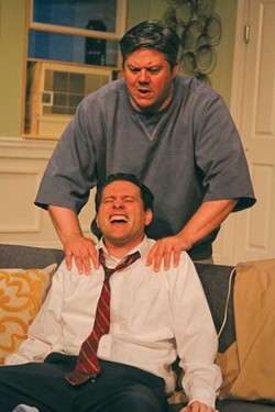 SIMON SAYS Cinnabar Theater revives the comic gold of 'The Odd Couple.'
