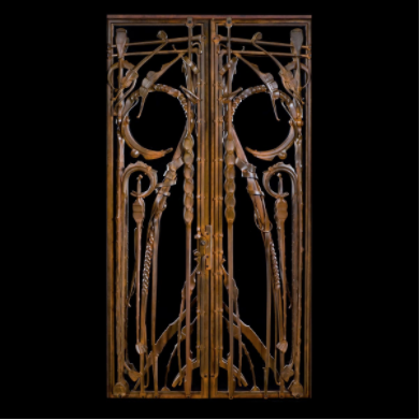 Front Entry Gate by Albert Paley, 2008
