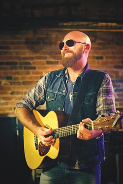 SENSE OF PLACE Corey Smith draws inspiration from his hometown.