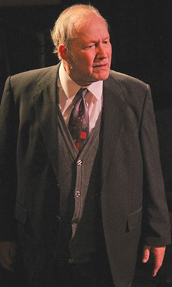AMERICAN DREAMER Veteran of TV, film and theater roles Charles Siebert commands the stage as the tragic Willy Loman. - ERIC CHAZANKIN