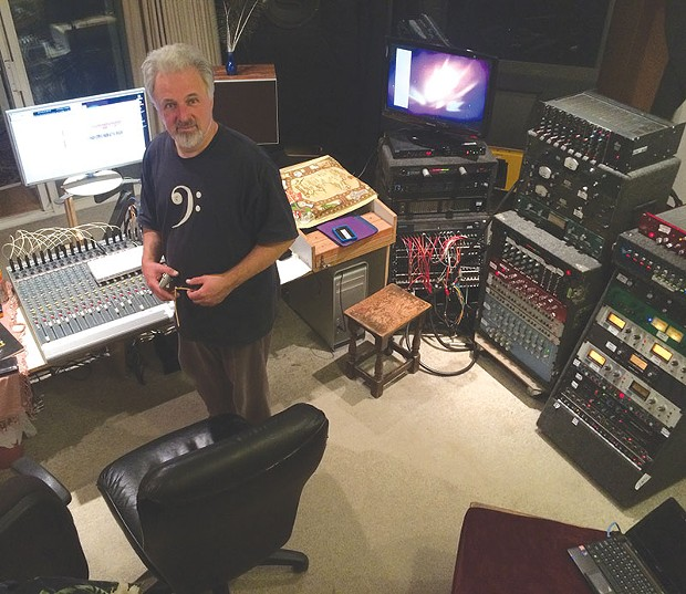 TUNED TO A NATURAL 'E'   Jeff Martin is turning Studio E into a legend.