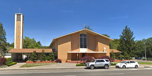 Catholic Church clergy members accused of sexually abusing minors have served or retired at Our Lady of Loretto in Novato, a law firm alleges.