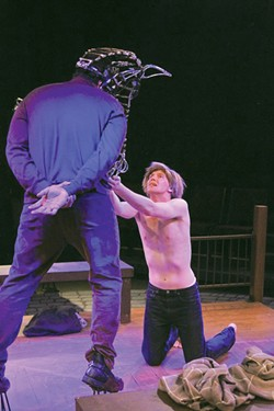 HIGH HORSE Martin Gilbertson and Ryan Severt stunned audiences in 