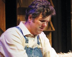 Simple Dreams Martin Gilbertson captivates in Steinbeck's 'Of Mice and Men,' playing now in Cloverdale. - DAVID MCCHESNEY