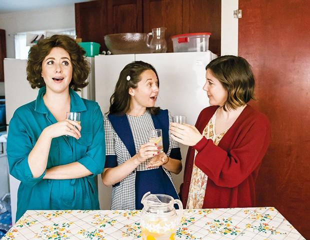 Family Ties Chandler Parrott-Thomas, left, Margaret Grace Hee, center, and Jensen Power share a sisterly bond in 'Crimes of the Heart.' - ROBIN JACKSON