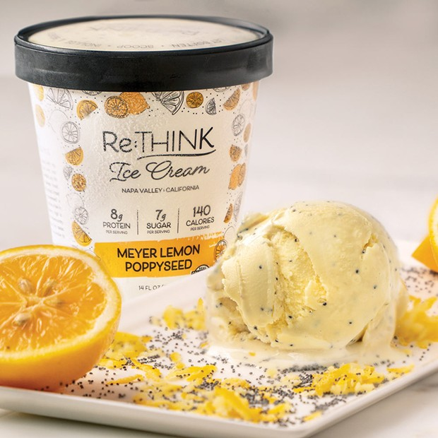 Have Your Ice Cream and Eat it, Too After entering recovery for substance abuse, ReTHINK founder George Haymaker craved sugar. Sugar-free ice cream was the result.