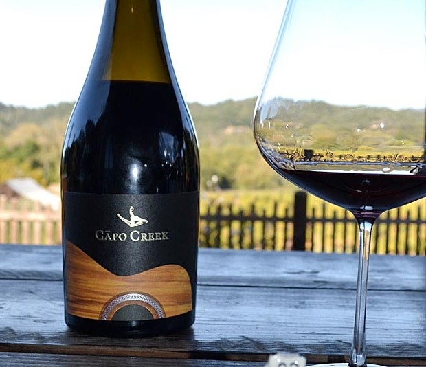 Grenache Blanc With A View Hospitality is the name of the game at Capo Creek Winery. - JAMES KNIGHT