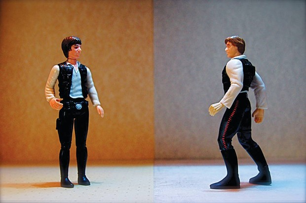 DUELING HANJOS Action figures sold separately. - JD HANCOCK