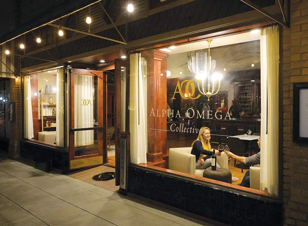 STROLL GOALS Alpha Omega Collective on First Street is a must-visit stop on any visit to Napa. - CHARLENE PETERS