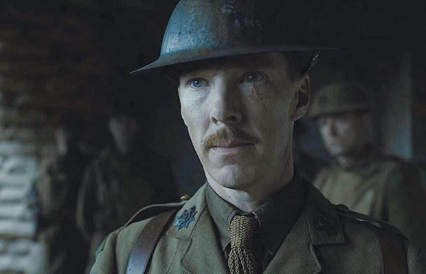 MEAT GRINDER Benedict Cumberbatch has a brief, but memorable role in '1917.'