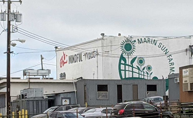 CLOSED DOORS Last fall, Marin Sun Farms announced it would no longer process meat from independent labels. - DAEDALUS HOWELL