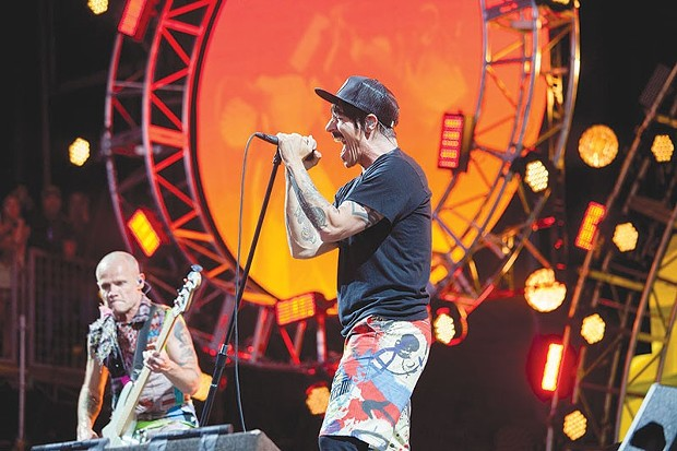 Red Hot Chili Peppers headlining BottleRock in 2016.