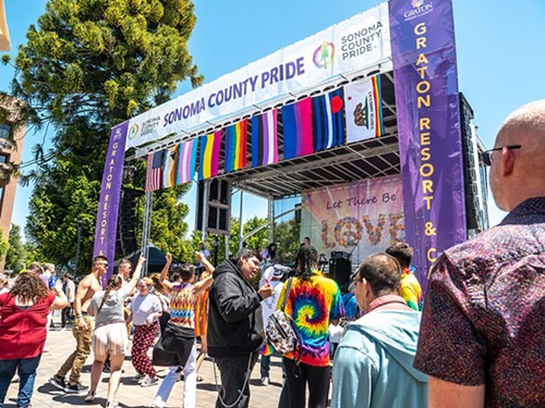 Sonoma County Pride 2019 - PHOTO COURTESY SONOMA COUNTY PRIDE FACEBOOK PAGE