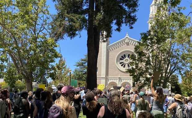 Rancor at Petaluma Protest over Black Teacher Firings