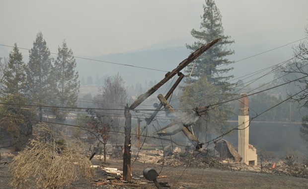 Cal-Fire Says PG&E Downed Power Lines the Culprit in Four 2017 California Wildfires