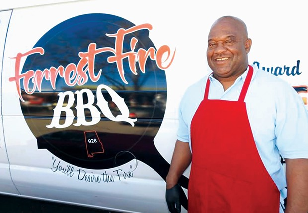 PIT BOSS  Forrest Murray Jr. serves Southern-style barbecue across the North Bay with Forrest Fire BBQ Catering and Takeout.