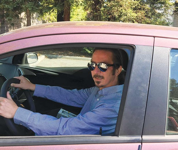 Though not as speedy as 'Baby Driver,' Kevin McEachern covers just as much ground in his daily routine.