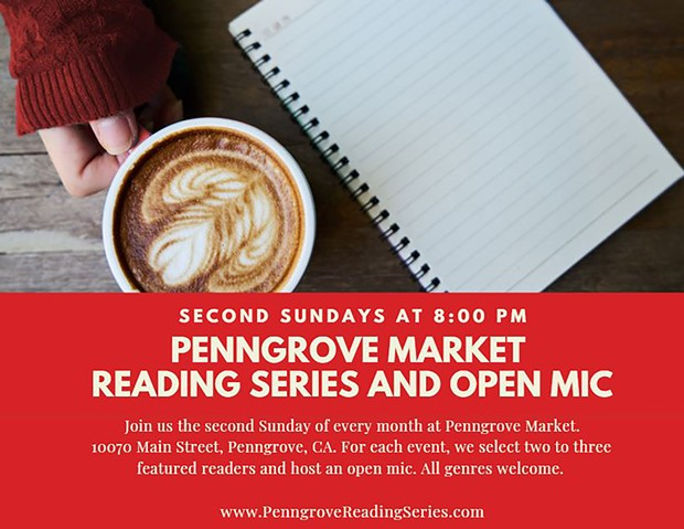 Penngrove Market Reading Series - 8 pm Every Second Sunday