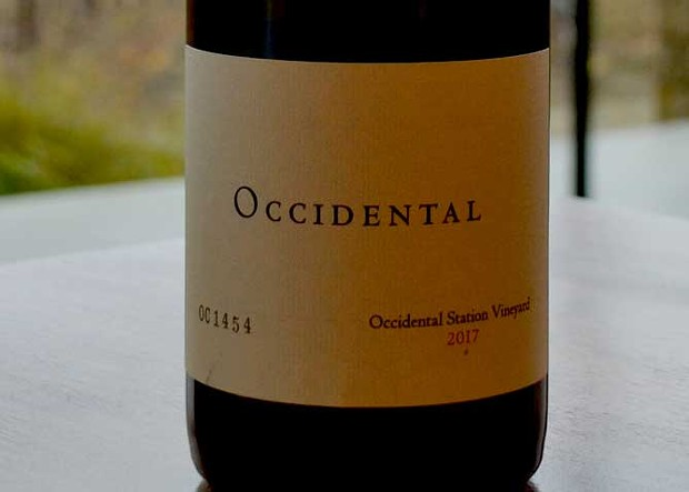 OCCIDENTALLY AWESOME Occidental Wines' fog-shrouded vineyards produce notable Pinot Noir.