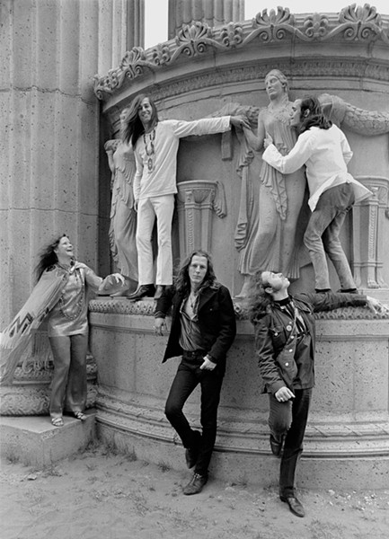 Big Brother & The Holding Company at the Palace of Fine Arts in San Francisco, 1968. - BARON WOLMAN