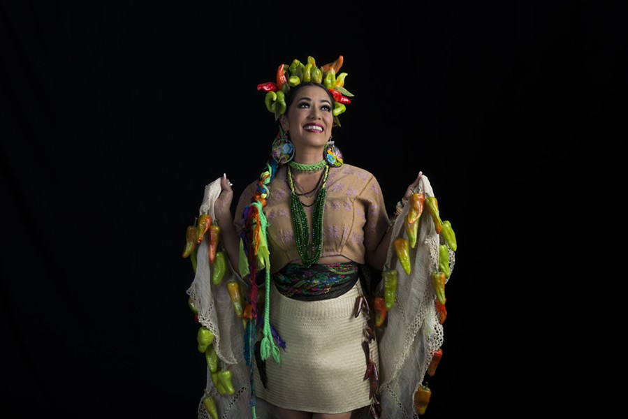 THE MUSE HOUR Grammy and Latin Grammy Award winner Lila Downs performs and discusses Latinx issues in a virtual event hosted by Luther Burbank Center for the Arts on Sunday, Nov 8. - MARCELA TABOADA
