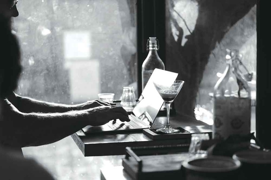 WRITE ON Cafes and writing pair perfectly. - ALAN CHEN