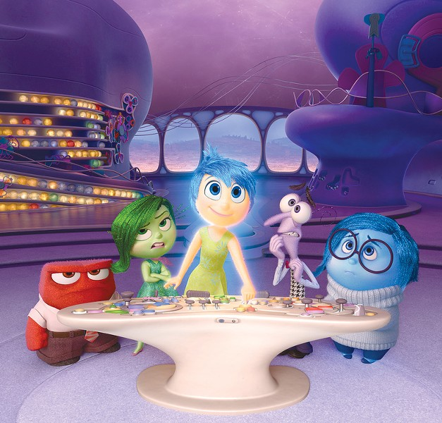 DEEP THOUGHTS 'Inside Out' creates characters out of a young girl's emotions.
