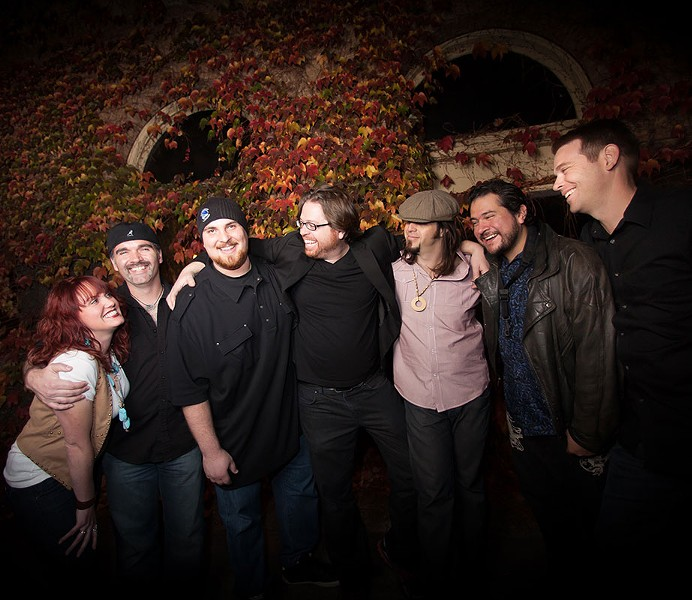MUSICAL MEMORIES Frobeck's new album honors the band's late drummer, Jonathan Lazarus. - NORAH BURROWS