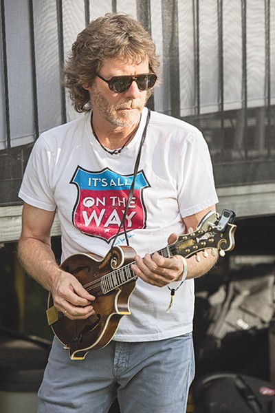 SAY SOMETHING Sam Bush gets personal on new record.