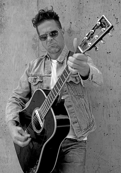 LIGHT METALM Ex-Metallica bassist Jason Newsted brings his unplugged show to the North Bay. - FRAN STRINE