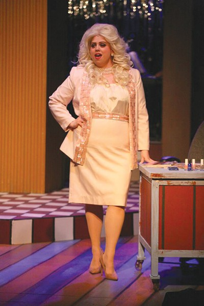 WHAT A WAY TO MAKE A LIVING Amy Webber channels Dolly Parton in new 6th Street Playhouse production. - ERIC CHAZANKIN