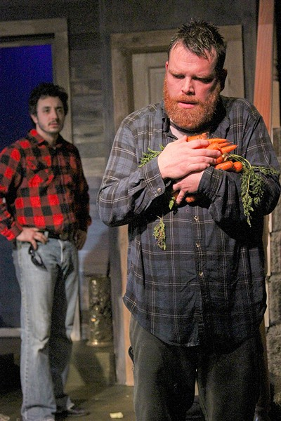 HARD ROW TO HOE  Tilden (Keith Baker) plays a key role in Main Stage West's excellent 'Buried Child.' - ERIC CHAZANKIN