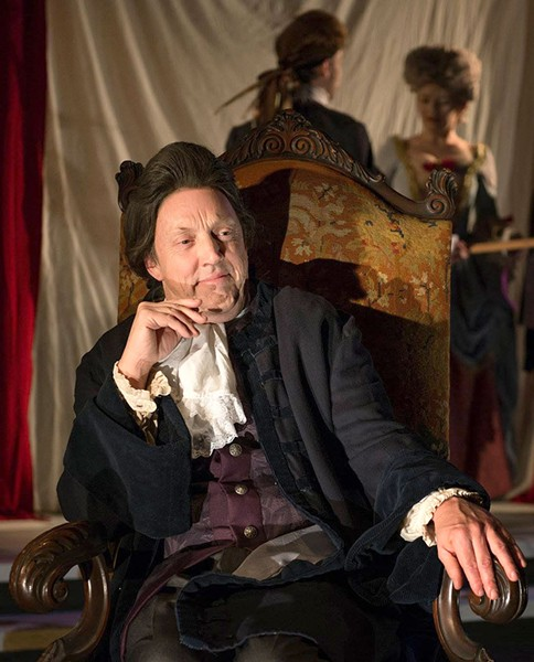 MAN OF GOD Richard Pallaziol is best when his Salieri is at his worst.