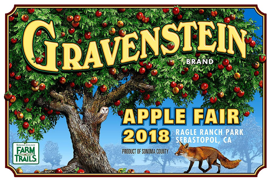 LIKE A FOX IN THE HENHOUSE  Sebastopol's Gravenstein Apple Fair again showcases the growing vaiety of local ciders and apple-inspired food.