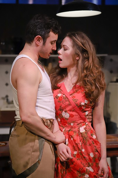 MISS ME Sam Coughlin (left) and Ilana Niernberger get tangled in 