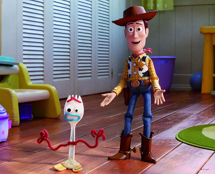 Toys in the Attic The latest 'Toy Story' installment features favorites like Woody (Tom Hanks) and new toys like Forky (Tony Hale).