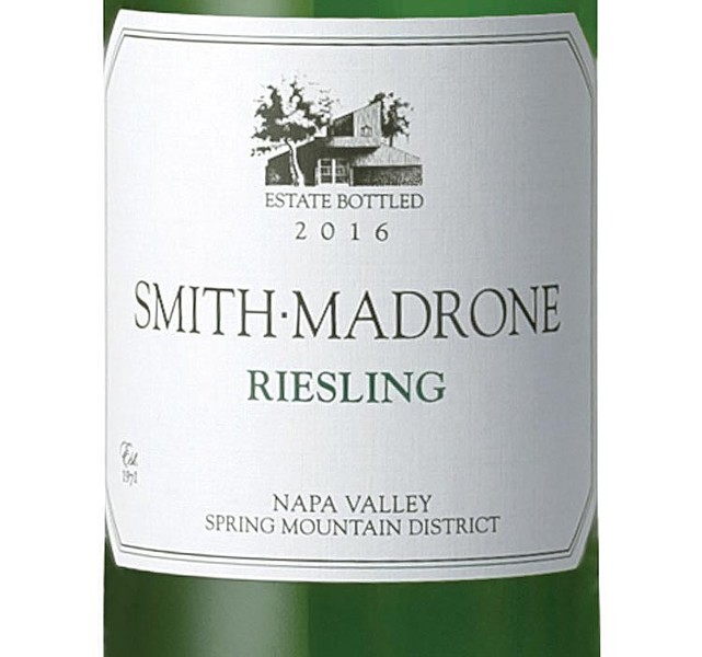Not So Sweet The racy acidity of Napa's Smith-Madrone Riesling compares favorably with its 