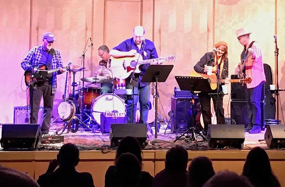 Pass the Gravy Gram Parsons–tribute band Laughing Gravy co-headlines in Occidental this weekend. - HARRY GALE