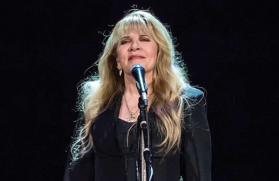 Still Golden Stevie Nicks headlines BottleRock when the festival returns to Napa. - RALPH ARVESEN (VIA WIKIPEDIA)