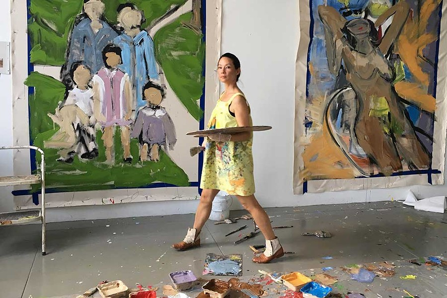 LIFE IN ARTS Actress Lucy Liu showcases her visual art with an upcoming exhibit in Yountville. - PHOTO COURTESY NAPA VALLEY MUSEUM